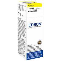 Чернила Epson T664 L100/ L200 70 мл Yellow