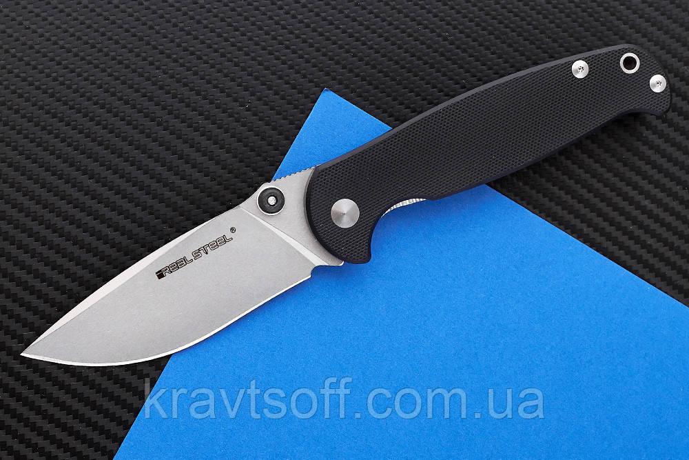 Нож складной H6-S1 black-7771 + В ПОДАРОК РУЧНОЙ ФОНАРЬ