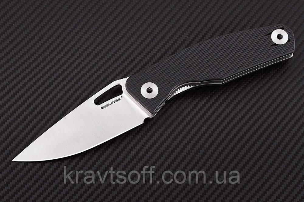 Нож складной Terra black-7451 + В ПОДАРОК РУЧНОЙ ФОНАРЬ