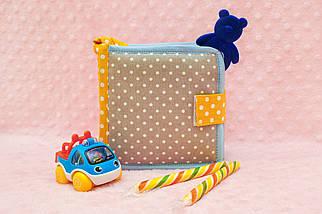 Фетровая книжка, Развивающие книжки для детей Handmade, 10 страниц, фото 3