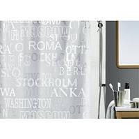 Шторка для ванной Spirella 13044 CITIES 180х200см
