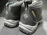 Ботинки мужские Columbia мех черные размеры 41 и 45, фото 2