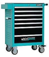 Набор инструментов Whirlpower 224 ед.(ящик-тумба на колесах), фото 1