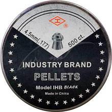 Пули для пневматики экспансивные Shanghai IHB Black 0,485 г 500 шт/уп