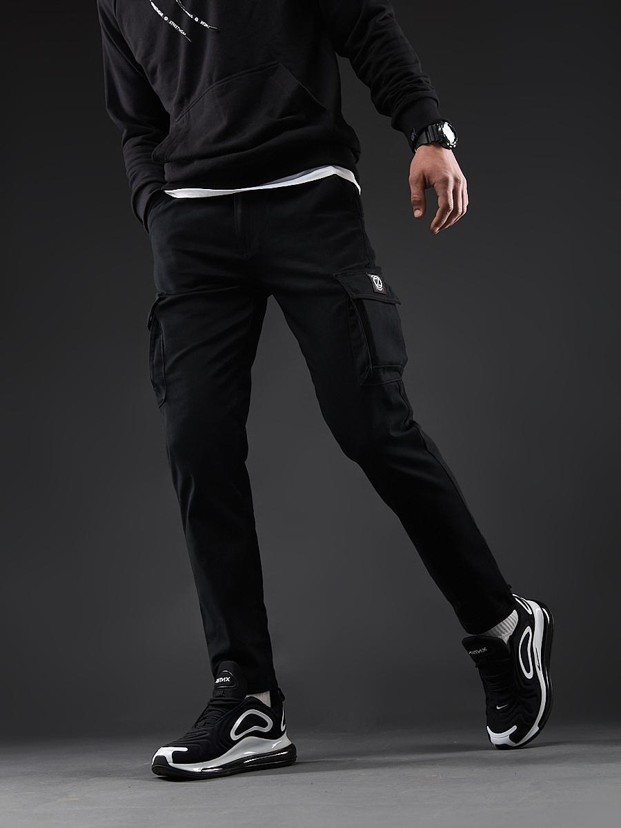 Карго брюки BEZET Hunter black'20 - XL