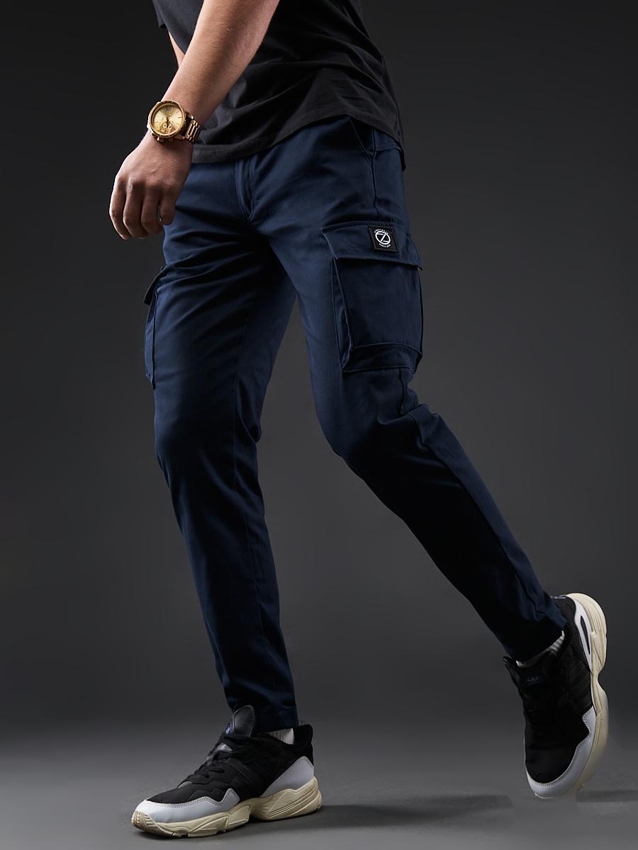 Карго брюки BEZET Hunter dark blue'20 - M
