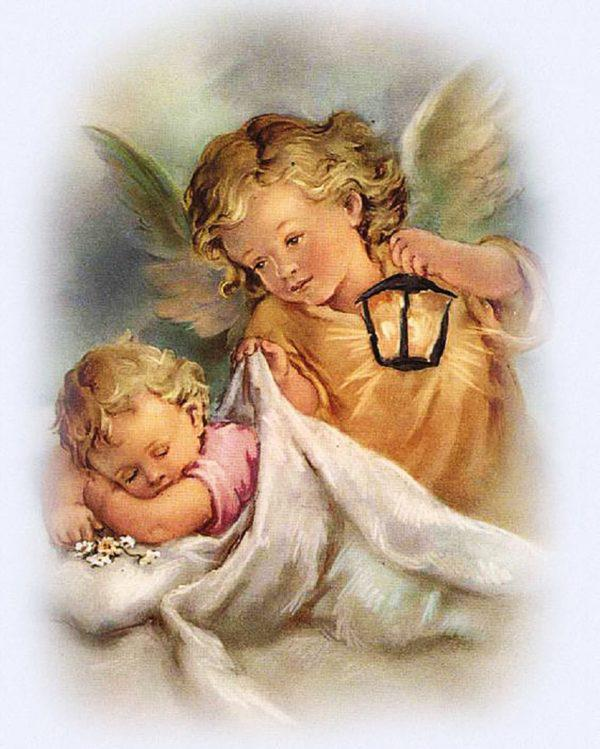 Картина рисование по номерам Чарівний діамант Ангелы рядом РКДИ-0038 40х50см набор для росписи, краски, кисти,