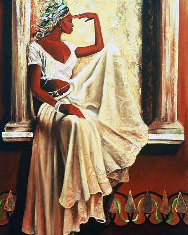 Картина рисование по номерам Чарівний діамант Грация РКДИ-0080 40х50см набор для росписи, краски, кисти, холст