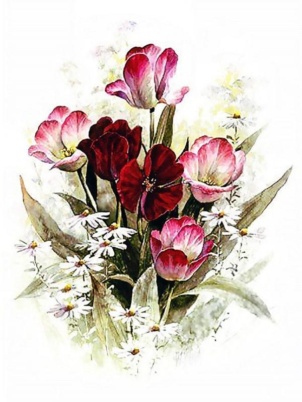 Картина рисование по номерам Чарівний діамант Аромат весны РКДИ-0279 30х40см набор для росписи, краски, кисти,