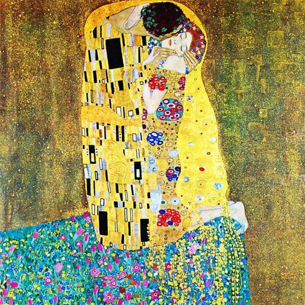 Картина рисование по номерам Чарівний діамант Поцелуй РКДИ-0144 40х40см набор для росписи, краски, кисти,