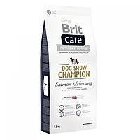 Сухий корм Brit Care (Брит Кеа) Dog Show Champion гіпоалергенний корм для дорослих виставкових собак (лосось)