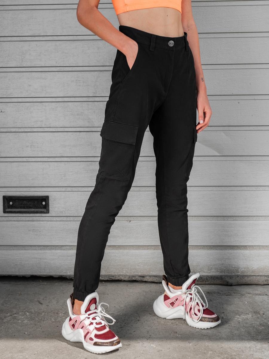 Карго брюки женские BEZET Eva black'20 - XS