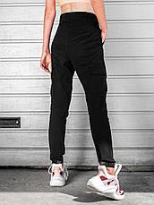 Карго брюки женские BEZET Eva black'20 - XS, фото 2