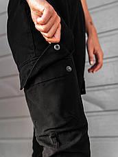 Карго брюки женские BEZET Eva black'20 - XS, фото 3