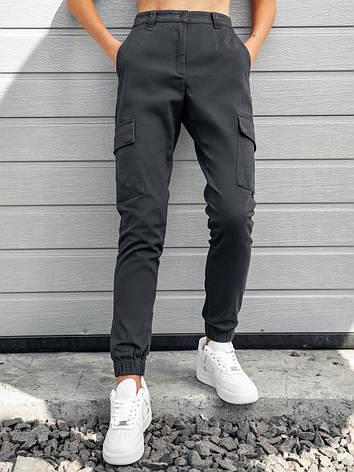 Карго брюки женские BEZET Eva grey'20 - L, фото 2