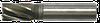 Фреза концевая 8х63х19 Z-4 c ц/х тип1 (норм. зуб) ДСТУ ГОСТ 17025:2008