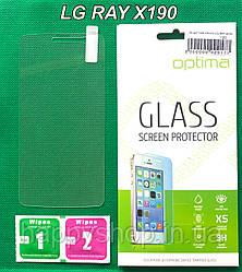Защитное стекло для LG RAY X190