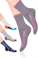 Носки женские спортивные STEVEN 026, хлопок, размеры 35-37 ,38-40