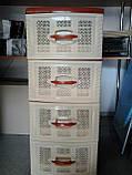Комод пластиковый 4 яруса, фото 2