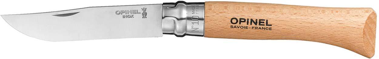 Нож Opinel №10 Inox (в блистере)