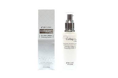 Эссенция осветляющая для лица с коллагеном 3W Clinic Collagen Whitening Essence