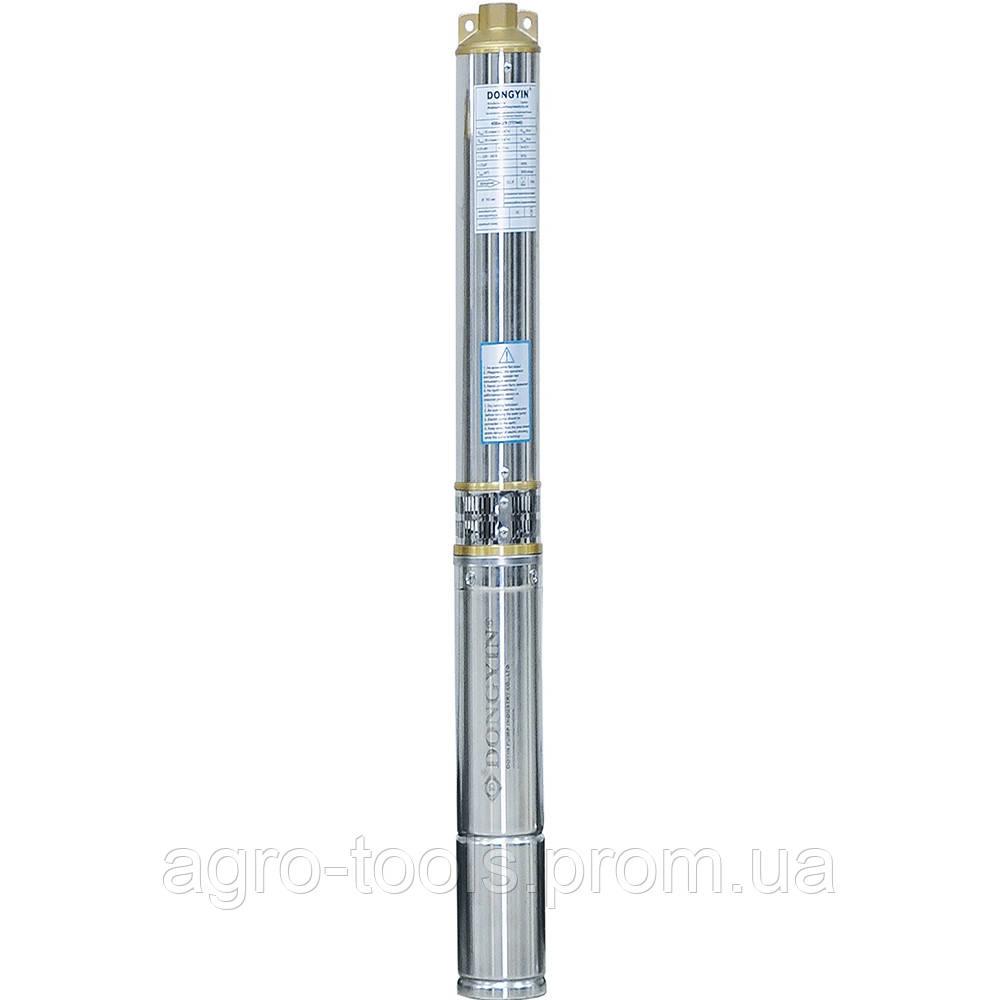 Відцентровий Насос свердловинний 1.5 кВт H 108(80)м Q 90(60)л/хв Ø80мм AQUATICA (DONGYIN) (777095)
