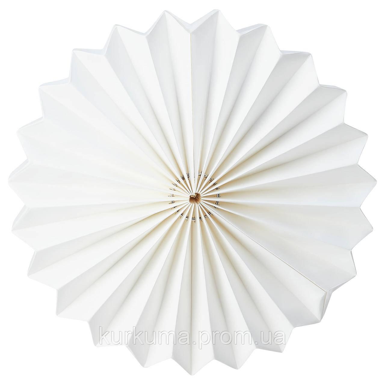 IKEA STRALA Абажур, оригами/белый (104.741.97)