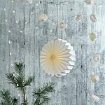 IKEA STRALA Абажур, оригами/белый (104.741.97), фото 4