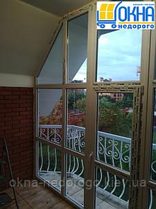 Вікна трапеція ПВХ