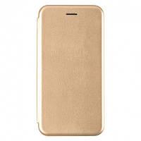 Чехол Fiji G.C. для Xiaomi Redmi K30 книжка магнитная Gold