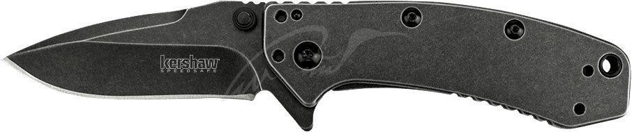 Ніж Kershaw Cryo Blackwash 8Cr13MoV, рукоять - G-10/сталь 410, 4-хпозиционная кліпса
