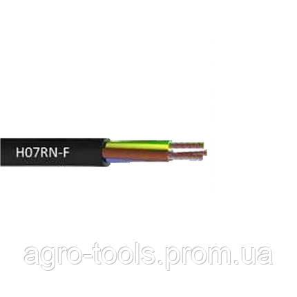 Кабель електричний для свердловинних насосів H07RN -F круглий (3×1.0мм2) 100м DONGYIN (779933), фото 2