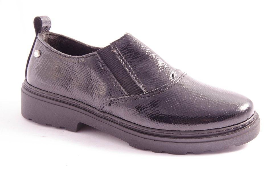 Туфли женские черные Inblu HE-10D