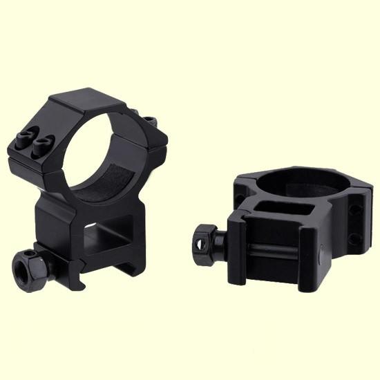 """Кольца Beeman FTMA029 для крепления оптики на планку Weaver низкое 1"""""""