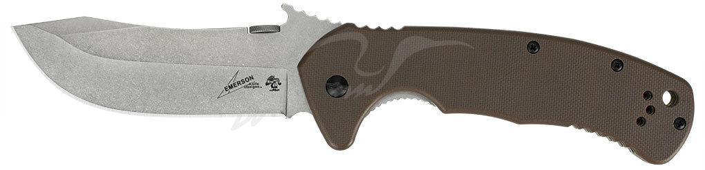 Нож Kershaw CQC-11K 8Cr14MoV, рукоять - G-10/сталь 410, 2-хсторонняя клипса