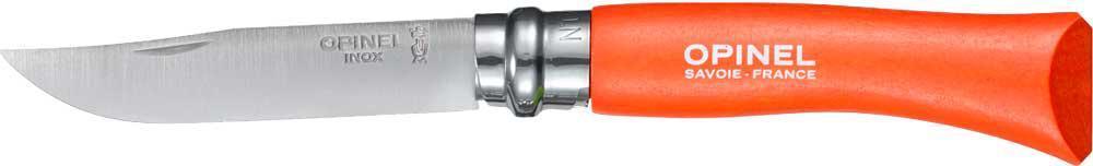 Ніж Opinel №7 Inox помаранчевий (блістер)