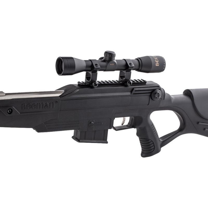 Пневматична гвинтівка для полювання Beeman Bison Gas Ram 1078GP з оптичним прицілом 4х32