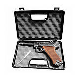 Стартовый пистолет ME Luger P-08 9 мм (Parabellum), фото 2