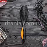 Овальная массажная щетка с покрытием SOFTTOUCH TITANIA art.1339, фото 2