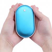 Грелка-повербанк для рук на 4800 mAh Pebble Hand Warmer PowerBank, фото 1