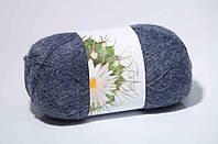 Пряжа для ручного вязания Ареола (альпака № 10) джинс