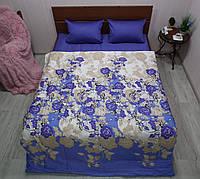 Постільна білизна сатин Розарій мікс, фото 1