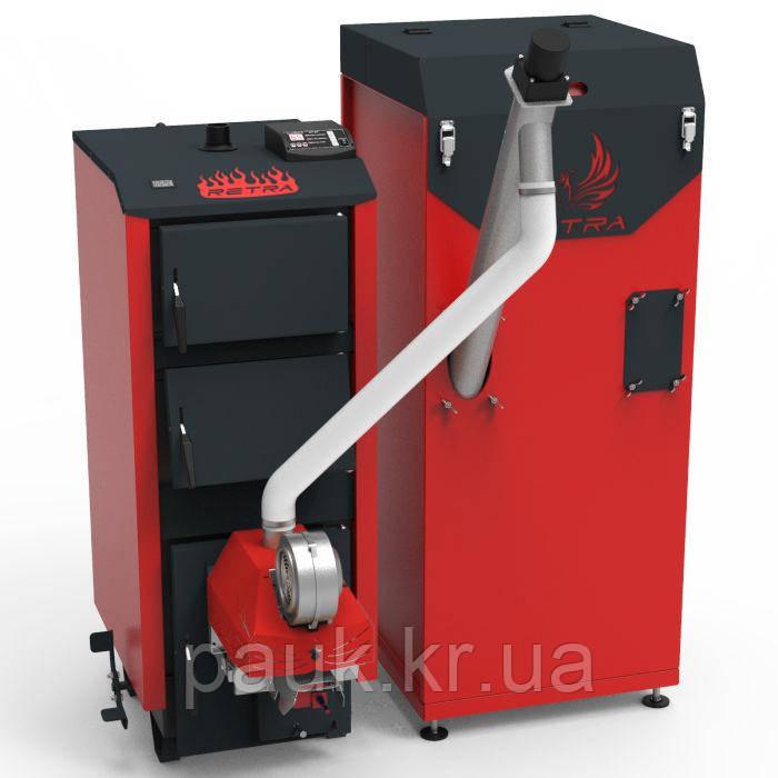 Твердотопливый котел Ретра 25 кВт Ретра-5М Comfort(автоматизированный)