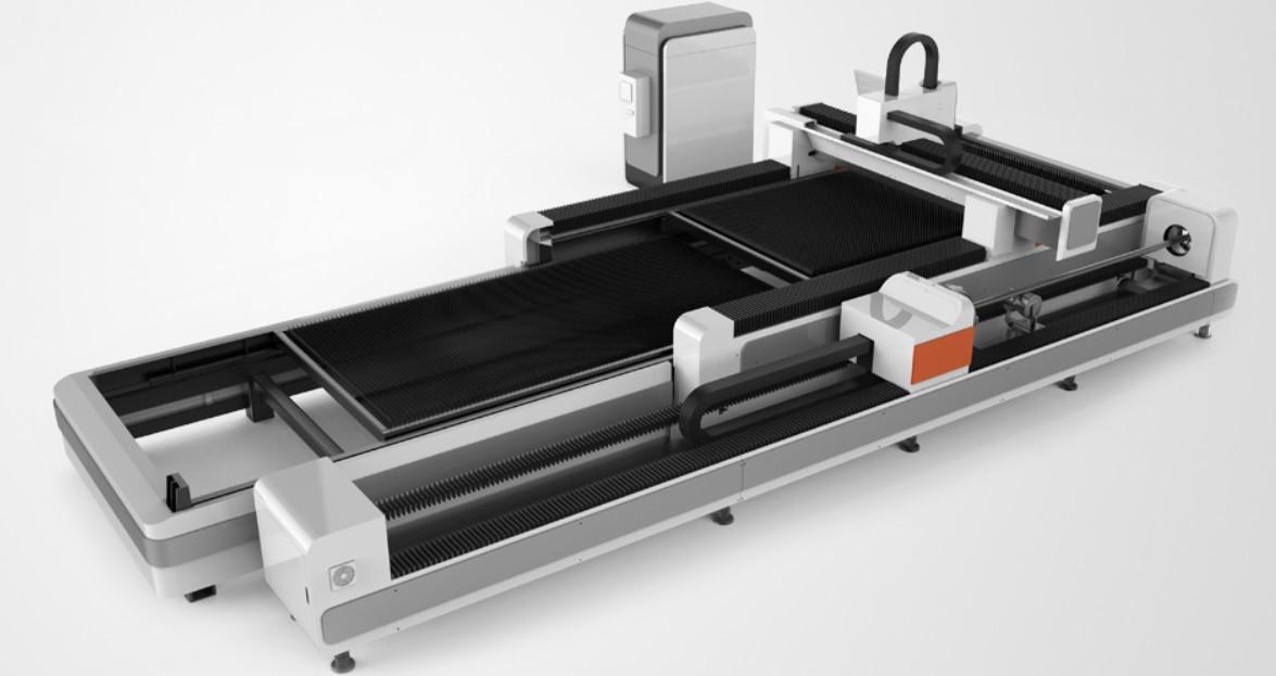 Верстат лазерного різання GWEIKE LF3015GCR RAYCUS 4000W (з опцією різання труби)