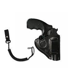 Поясная кобура для револьвера 4,5 со скобой для скрытого ношения + тренчик