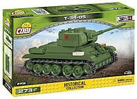 ХИТ 2020! Конструктор Советский средний танк КОБИ T-34-85 COBI-2702