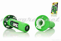 Ручки руля универсальные зеленые PRO TAPER