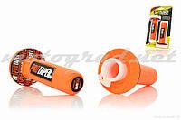 Ручки руля универсальные оранжевые PRO TAPER