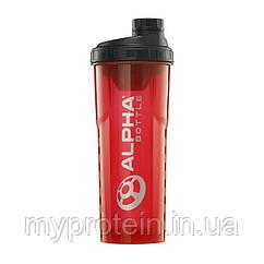 Alpha Bottle Шейкер Shaker 900 ml red