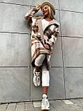Пальто в клетку кашемировое женское. Размер: 42-46. Цвет: мокко, оливка., фото 5